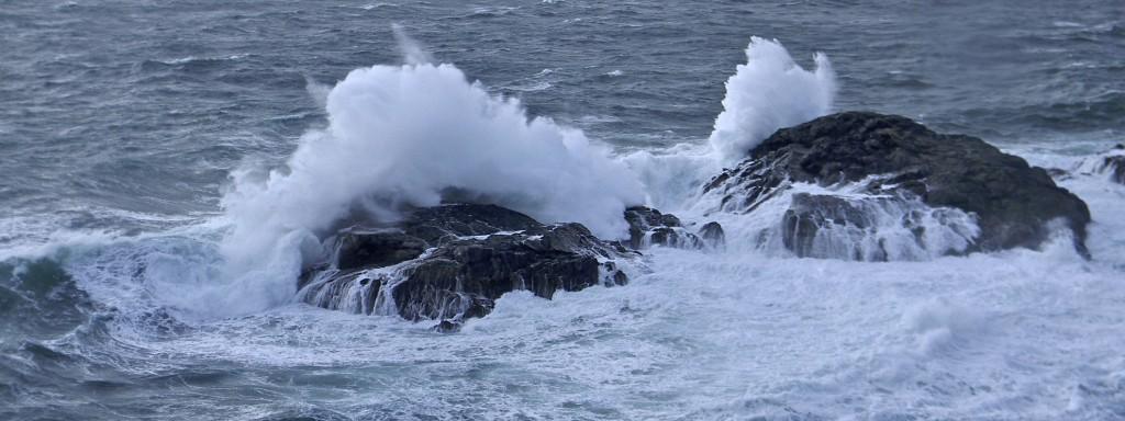 The exposed Atlantic coast of Iona